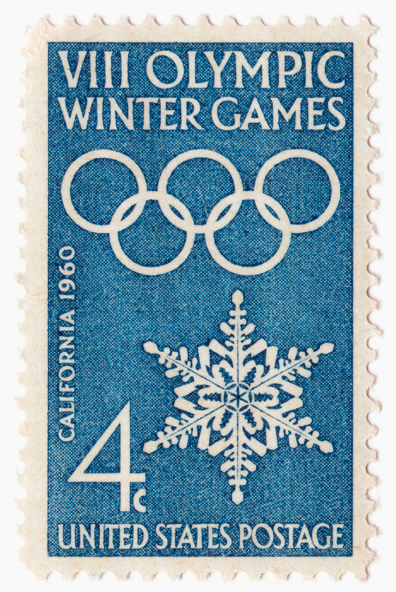 Commemoration of 1960 Winter Olympics