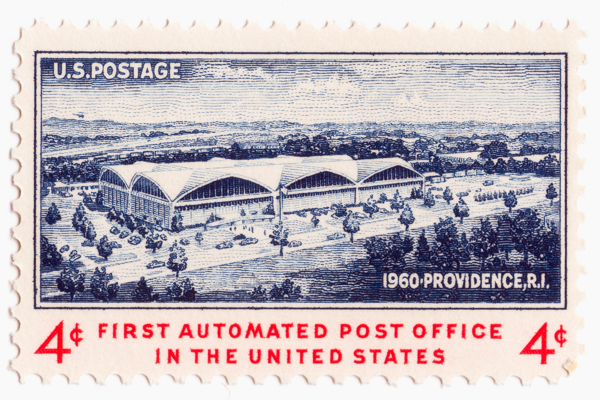 First Automated Post Office (1960)
